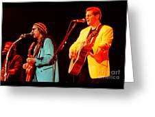 Glenn Frey Joe Walsh-1030 Greeting Card
