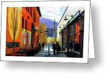 Glenwood Alleyscape Greeting Card