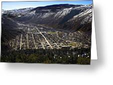 Glenwood Springs Canyon Greeting Card