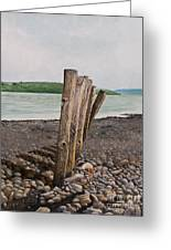 Glin Beach Breakers Greeting Card