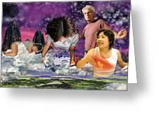 Global Dreaming Greeting Card