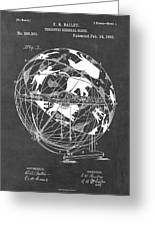 Globe For Astrologers Greeting Card