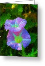 Gloria In The Shade Greeting Card