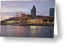 Gloria Visiting Tampa Greeting Card
