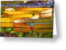 Glorious Morning Lilies Greeting Card