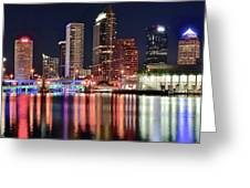 Glorious Tampa Bay Florida Greeting Card
