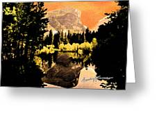 Glorious Yosemite Greeting Card