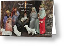 Glory To God Greeting Card