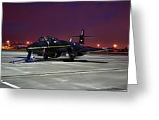 Gloster Meteor T7 Greeting Card