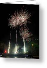 Gloucester Fireworks 2015 Greeting Card