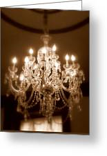 Glow From The Past Greeting Card by Karen Wiles