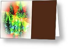 Winter's Glow Greeting Card