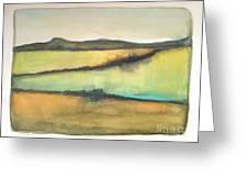 Glow Of The Prairie Greeting Card