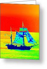 Glow Ship 7 Photograph Greeting Card
