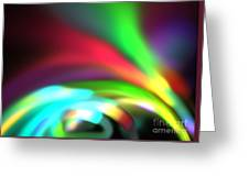 Glowing Arches Greeting Card