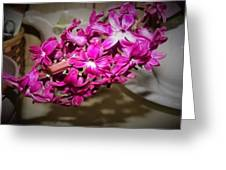 Glowing Blossoms  Greeting Card