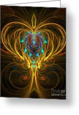 Glowing Chalise Greeting Card