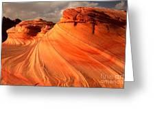 Glowing Desert Dragon Greeting Card