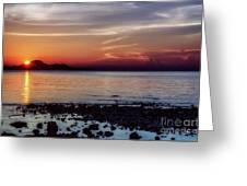 Glowing Evening Greeting Card