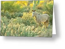 Glowing In The Wild Greeting Card