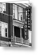 Glyndon Hotel Greeting Card