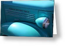 Gm Truck Greeting Card