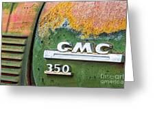 Gmc 350 Tag Greeting Card