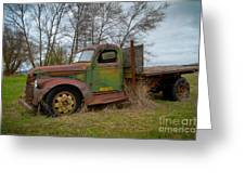 Gmc Green Greeting Card
