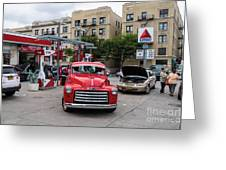 Gmc Pickup Greeting Card
