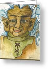 Gnarlsworth Gnome Greeting Card