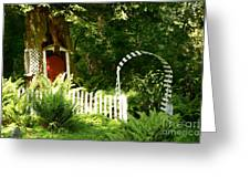 Gnome's House Greeting Card