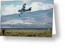 Go Fast Turn Left Fly Low Friday Morning Unlimited Bronze Class Greeting Card