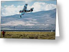 Go Fast Turn Left Fly Low Friday Morning Unlimited Broze Class Signature Edition Greeting Card