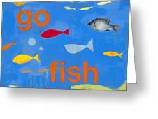 Go Fish Greeting Card