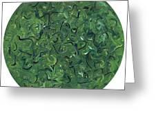 Go Green Greeting Card