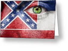 Go Mississippi Greeting Card
