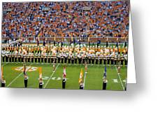 Go Vols Greeting Card