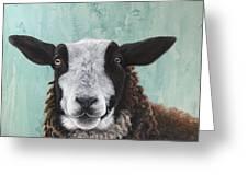 Goat Tee Greeting Card