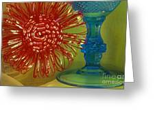 Goblet Bow Greeting Card