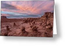 Goblin Sunset Greeting Card