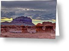 Goblin Valley Sunset 2 Greeting Card