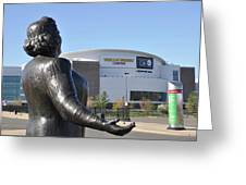 God Bless The Flyers - Kate Smith Greeting Card