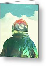 God Is An Astronaut Greeting Card