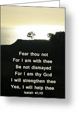 God Will Help You Greeting Card