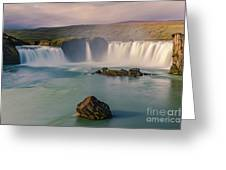Godafoss In Iceland Greeting Card