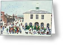 Godalming    Surrey Greeting Card