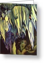 Goddes Of Carlsbad Caverns Greeting Card