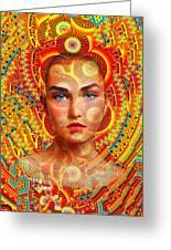 Goddess 224 Greeting Card