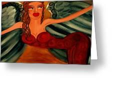 Goddess Athena Greeting Card