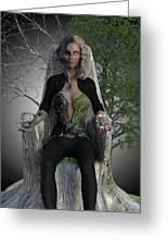 Goddess Hel Greeting Card
